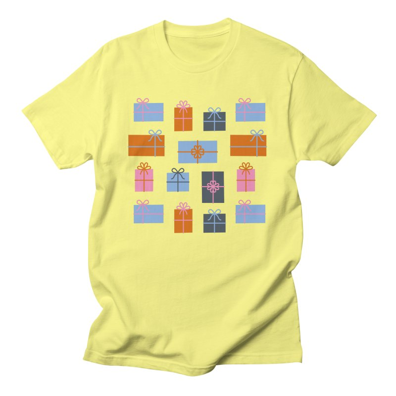 Christmas Gifts Pattern Women's T-Shirt by abstractocreate's Artist Shop