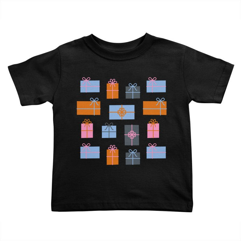 Christmas Gifts Pattern Kids Toddler T-Shirt by abstractocreate's Artist Shop