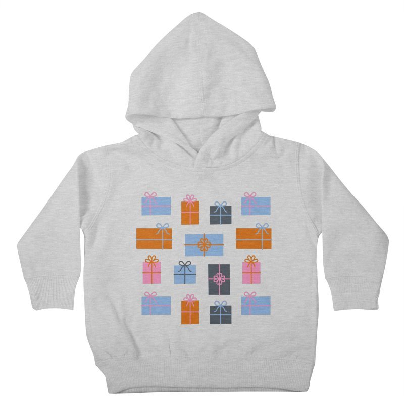 Christmas Gifts Pattern Kids Toddler Pullover Hoody by abstractocreate's Artist Shop