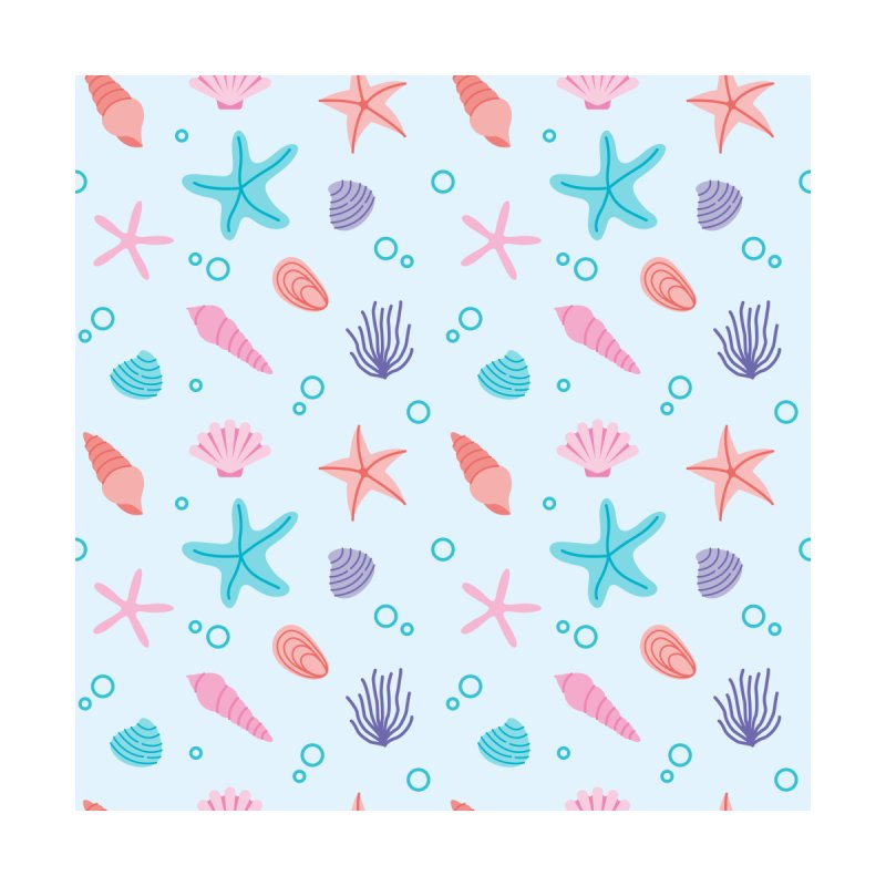 Sea Pattern Accessories Notebook by abstractocreate's Artist Shop