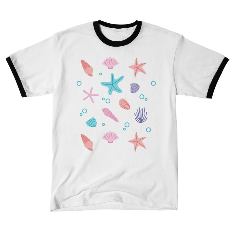Sea Pattern Men's T-Shirt by abstractocreate's Artist Shop