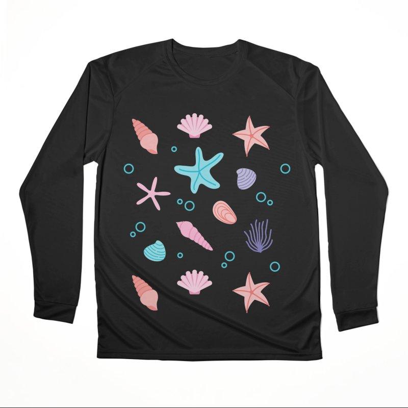 Sea Pattern Women's Longsleeve T-Shirt by abstractocreate's Artist Shop
