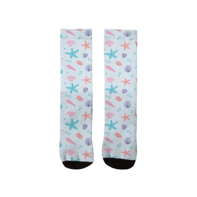 Sea Pattern Men's Socks by abstractocreate's Artist Shop