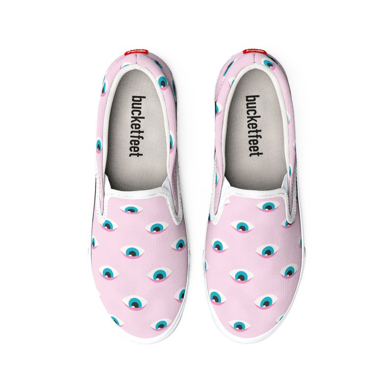 Girly Eyes Pattern Women's Shoes by abstractocreate's Artist Shop