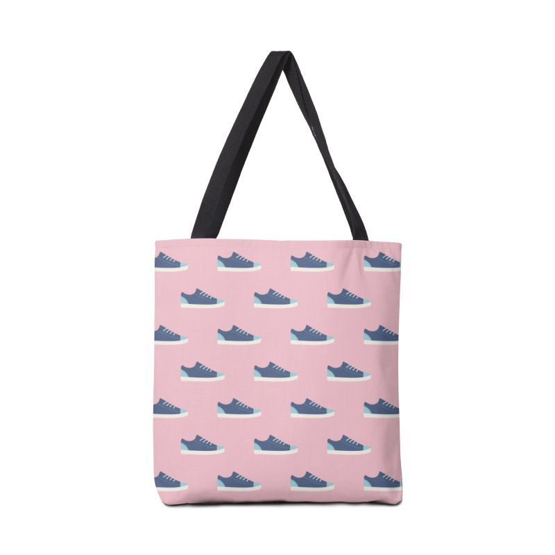 Blue Sneakers Pattern Accessories Bag by abstractocreate's Artist Shop