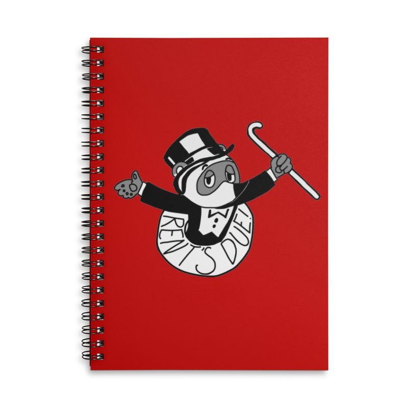 Tom Nookopoly Accessories Notebook by Redd's Art Shoppe