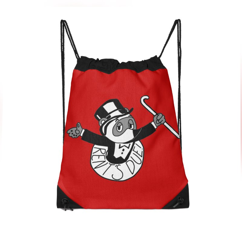 Tom Nookopoly Accessories Bag by Redd's Art Shoppe