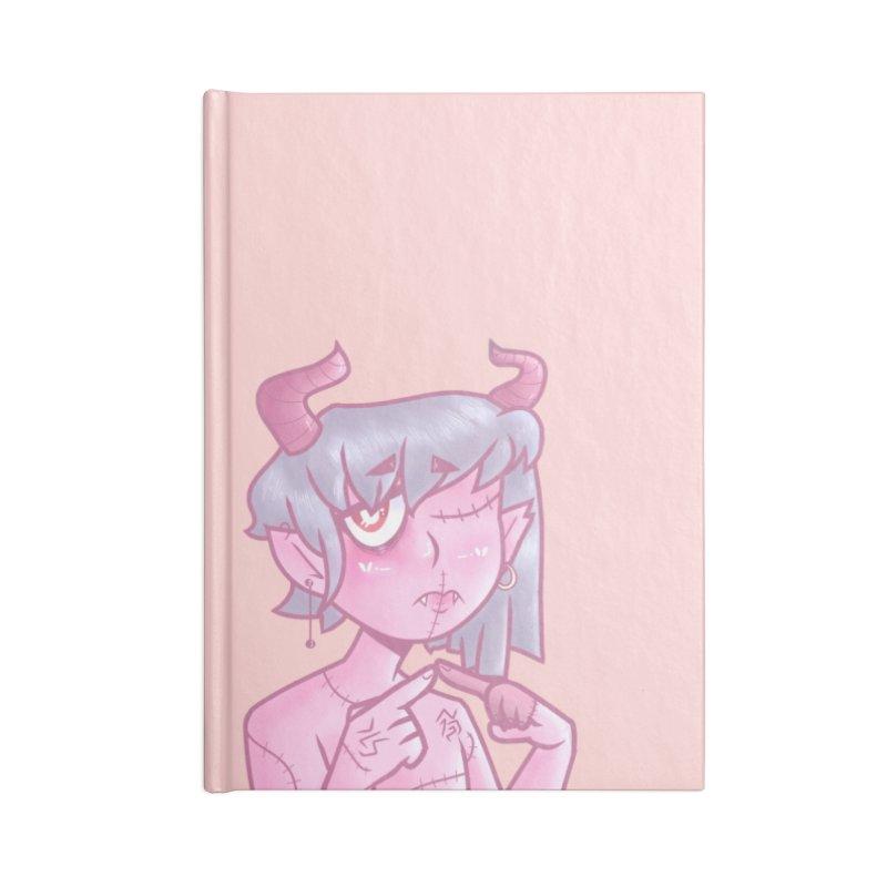 Marli the Demon Accessories Notebook by Redd's Art Shoppe