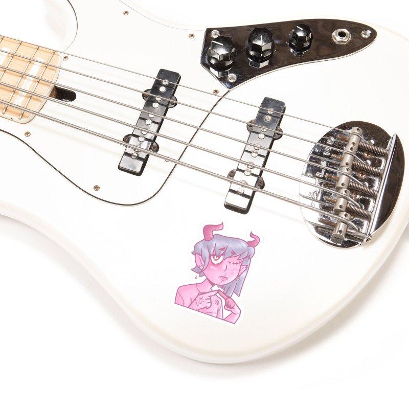 Marli the Demon Accessories Sticker by Redd's Art Shoppe