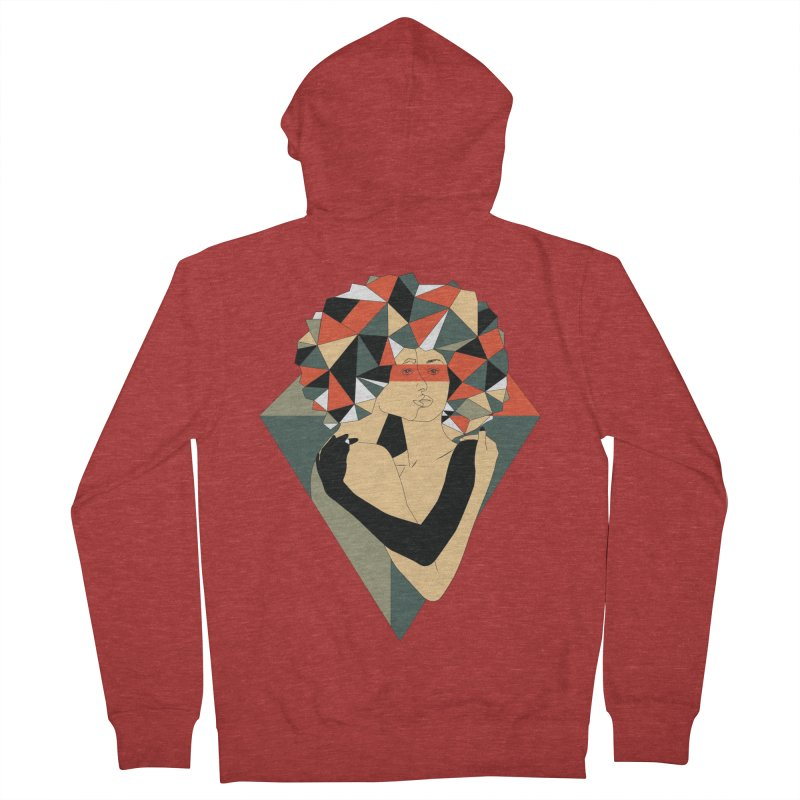 Mixed Jewels Men's Zip-Up Hoody by abstrato's Artist Shop