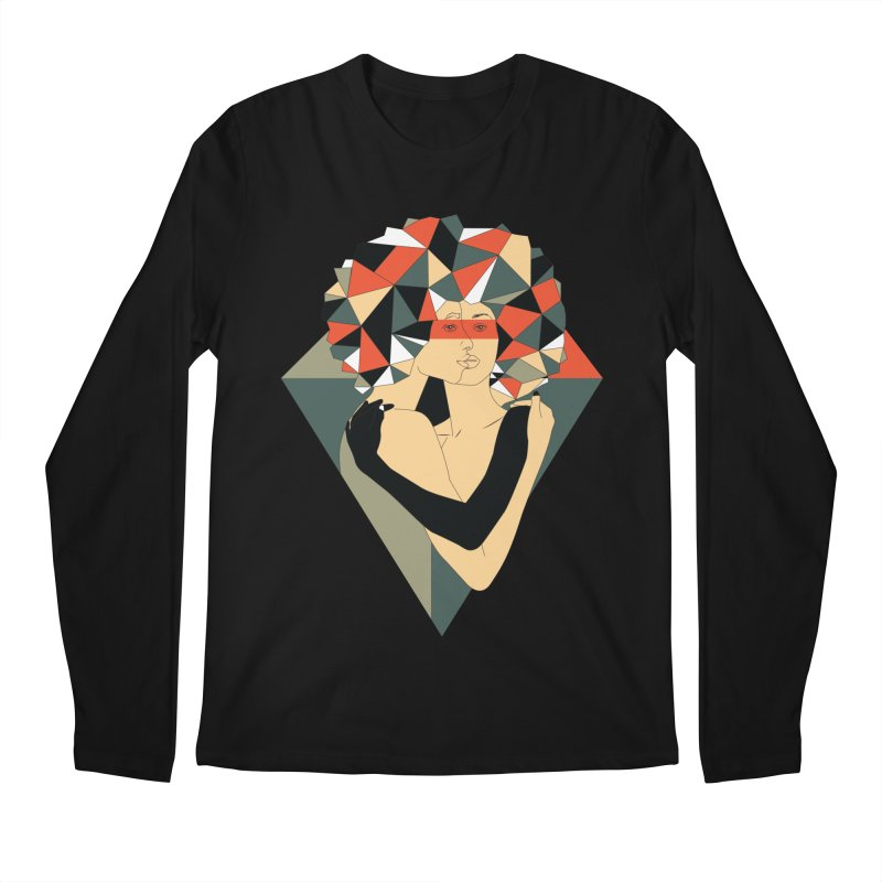 Mixed Jewels Men's Longsleeve T-Shirt by abstrato's Artist Shop