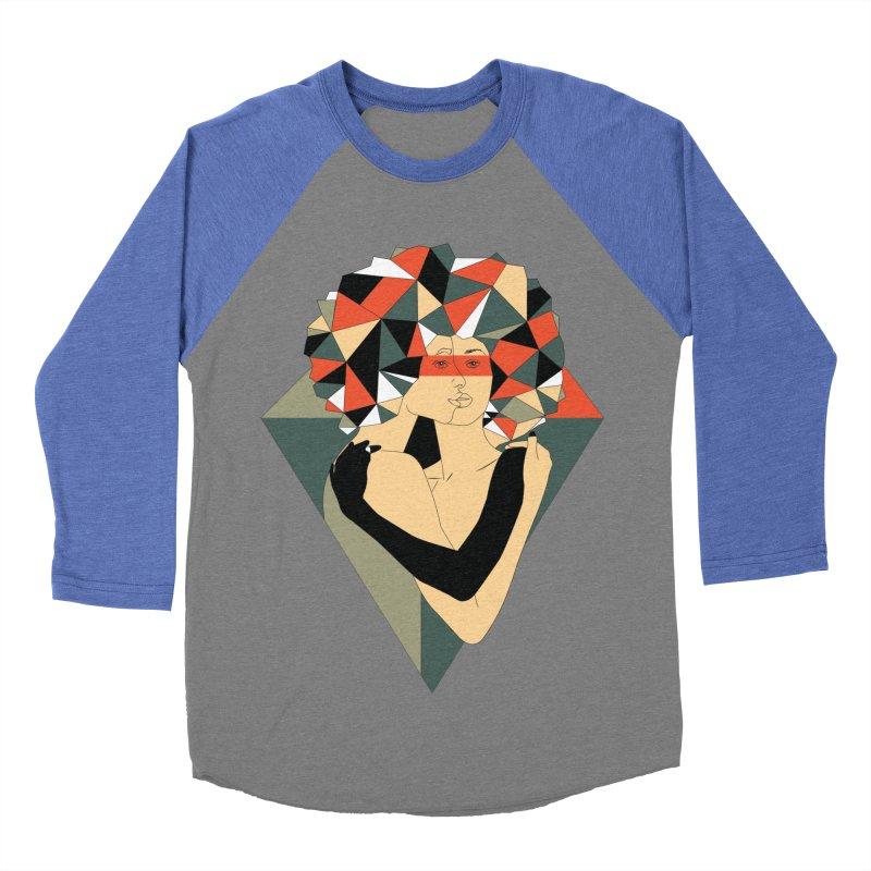 Mixed Jewels Women's Baseball Triblend T-Shirt by abstrato's Artist Shop