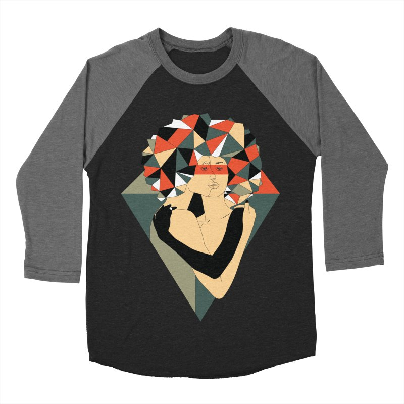 Mixed Jewels Men's Baseball Triblend T-Shirt by abstrato's Artist Shop
