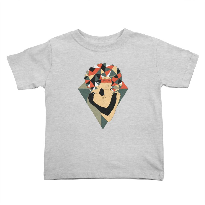 Mixed Jewels Kids Toddler T-Shirt by abstrato's Artist Shop