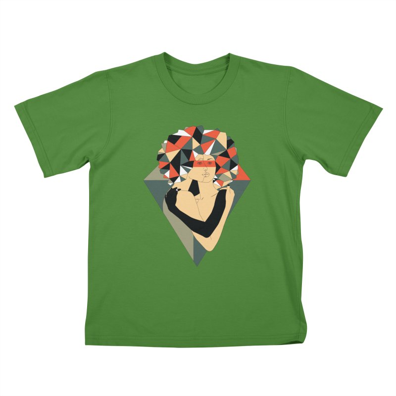 Mixed Jewels Kids T-Shirt by abstrato's Artist Shop