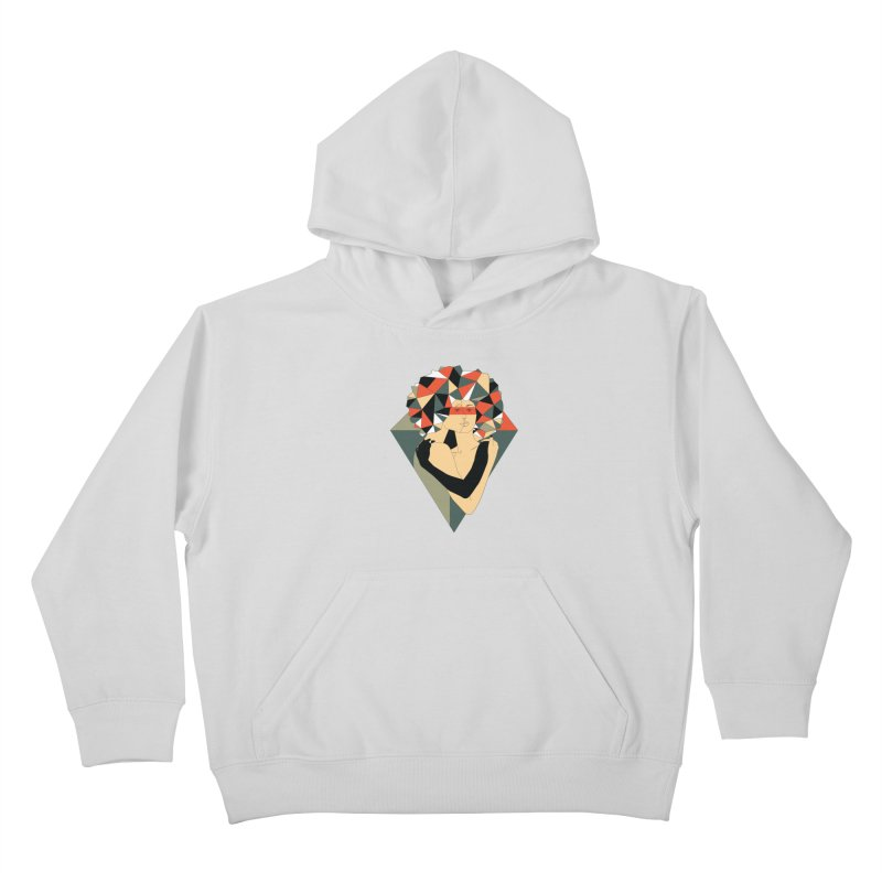 Mixed Jewels Kids Pullover Hoody by abstrato's Artist Shop