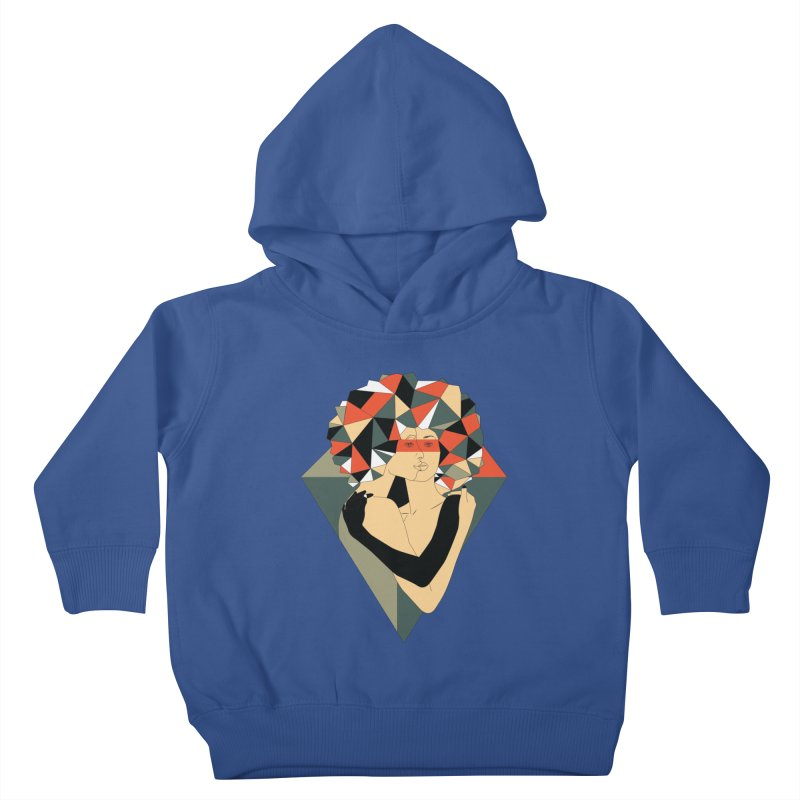 Mixed Jewels Kids Toddler Pullover Hoody by abstrato's Artist Shop