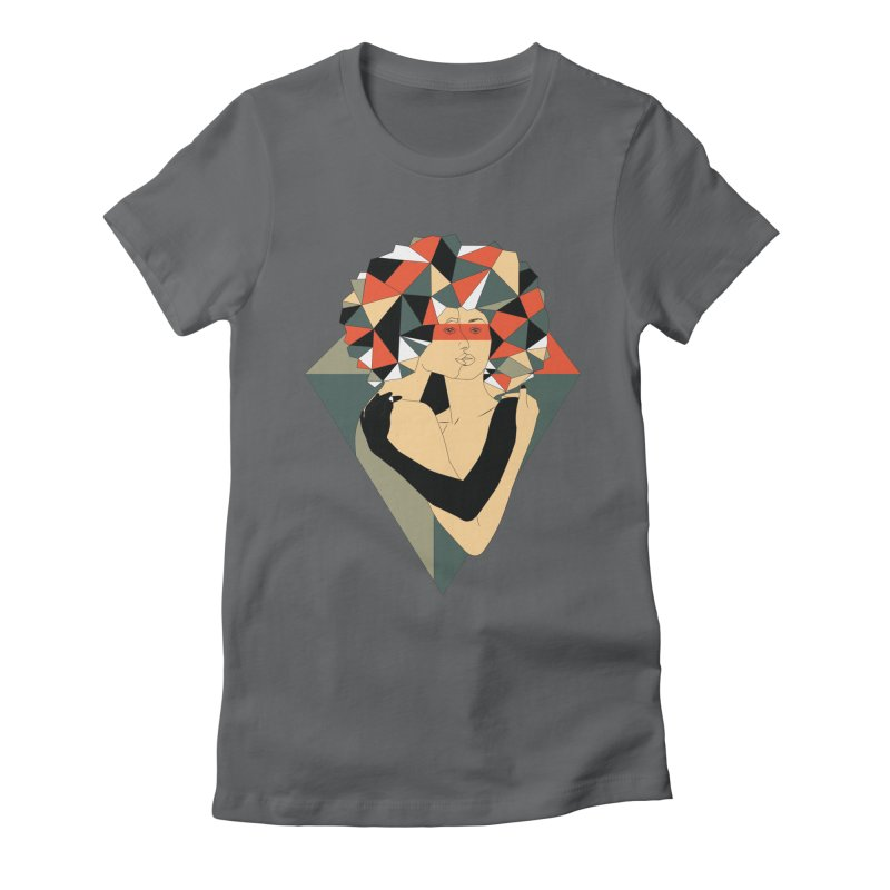 Mixed Jewels Women's Fitted T-Shirt by abstrato's Artist Shop