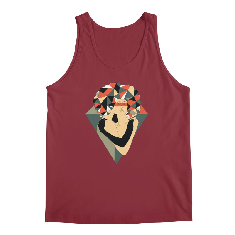 Mixed Jewels Men's Tank by abstrato's Artist Shop