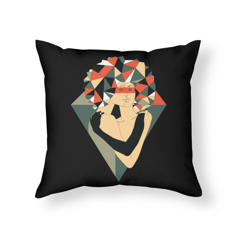 Mixed Jewels Home Throw Pillow by abstrato's Artist Shop
