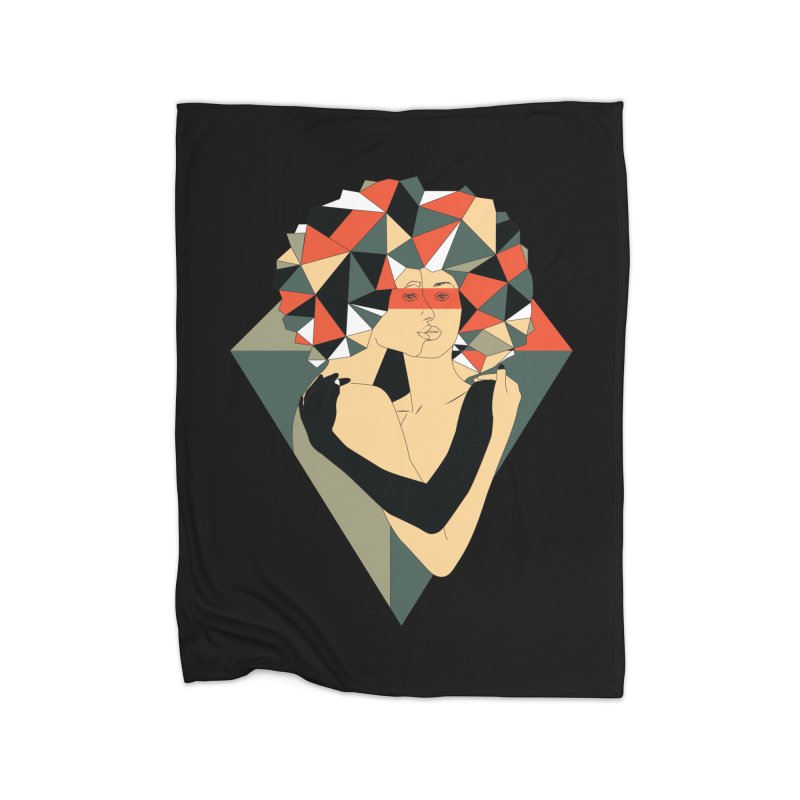 Mixed Jewels Home Blanket by abstrato's Artist Shop