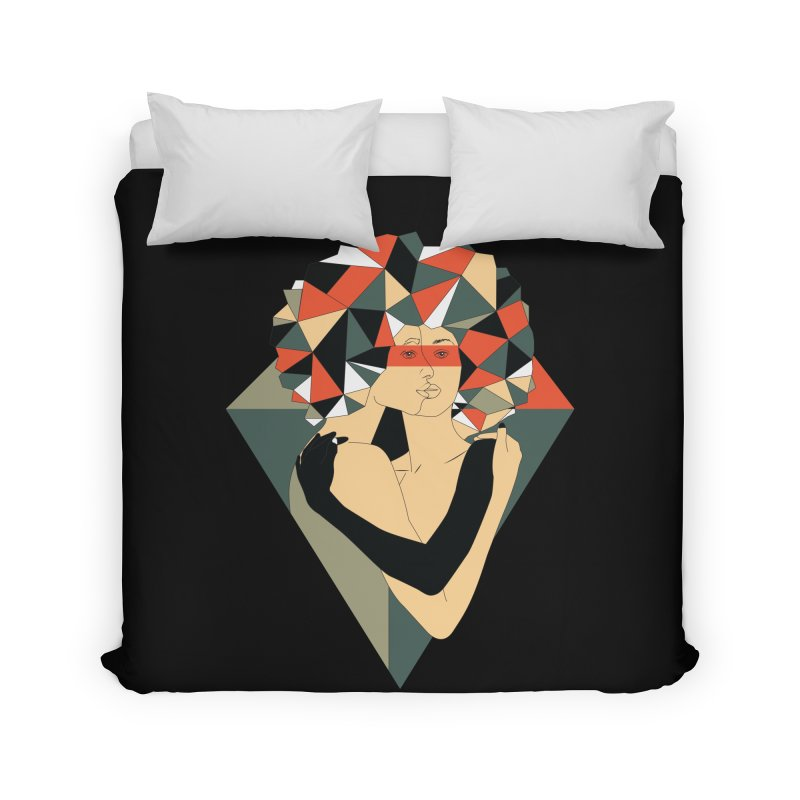 Mixed Jewels Home Duvet by abstrato's Artist Shop