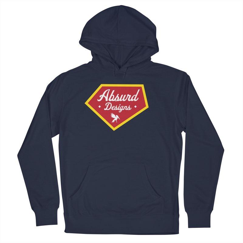 Absurd Badge 1 Men's Pullover Hoody by AbsurdDesigns's Artist Shop