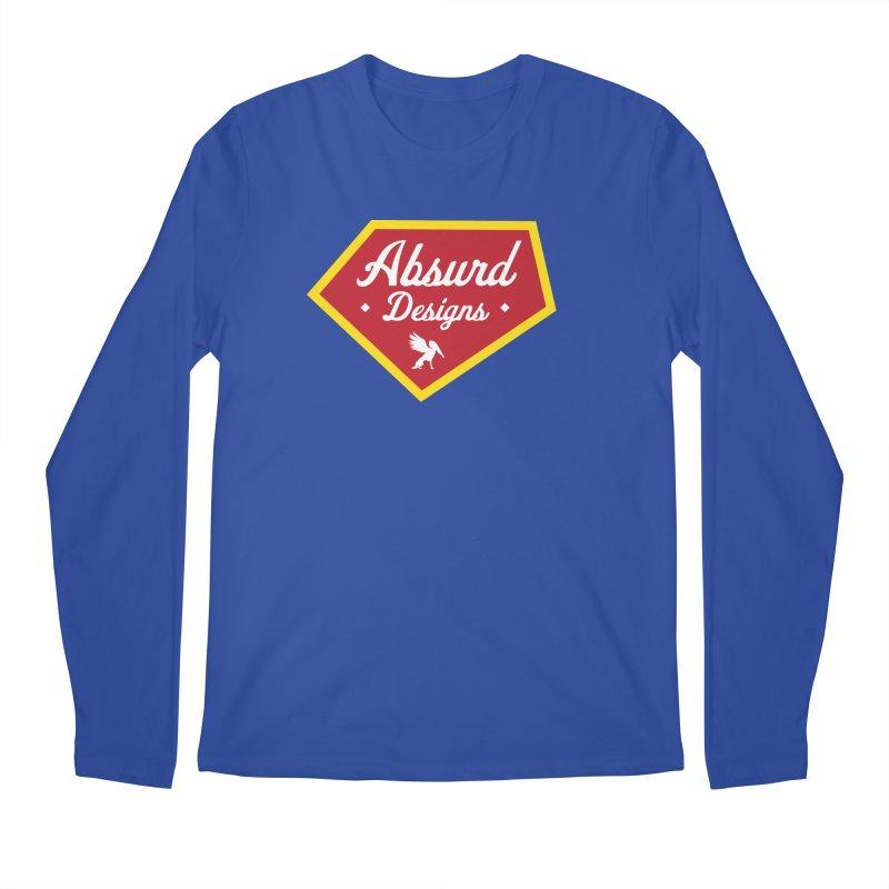 Absurd Badge 1 Men's Longsleeve T-Shirt by AbsurdDesigns's Artist Shop