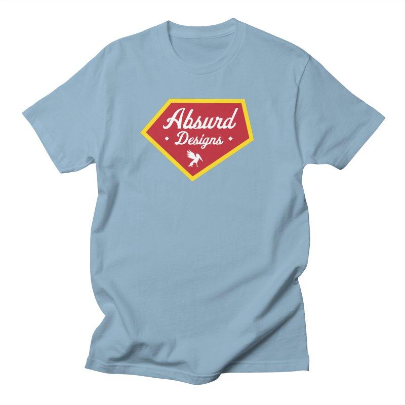 Absurd Badge 1 Men's T-shirt by AbsurdDesigns's Artist Shop