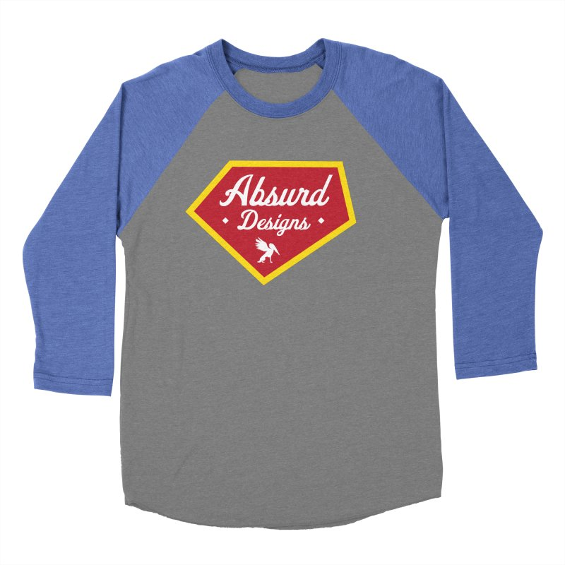 Absurd Badge 1 Women's Baseball Triblend T-Shirt by AbsurdDesigns's Artist Shop