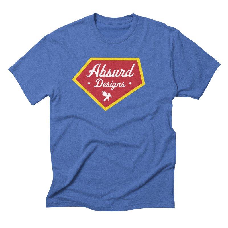 Absurd Badge 1 Men's Triblend T-shirt by AbsurdDesigns's Artist Shop