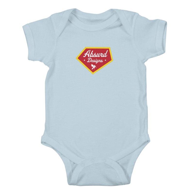 Absurd Badge 1 Kids Baby Bodysuit by AbsurdDesigns's Artist Shop