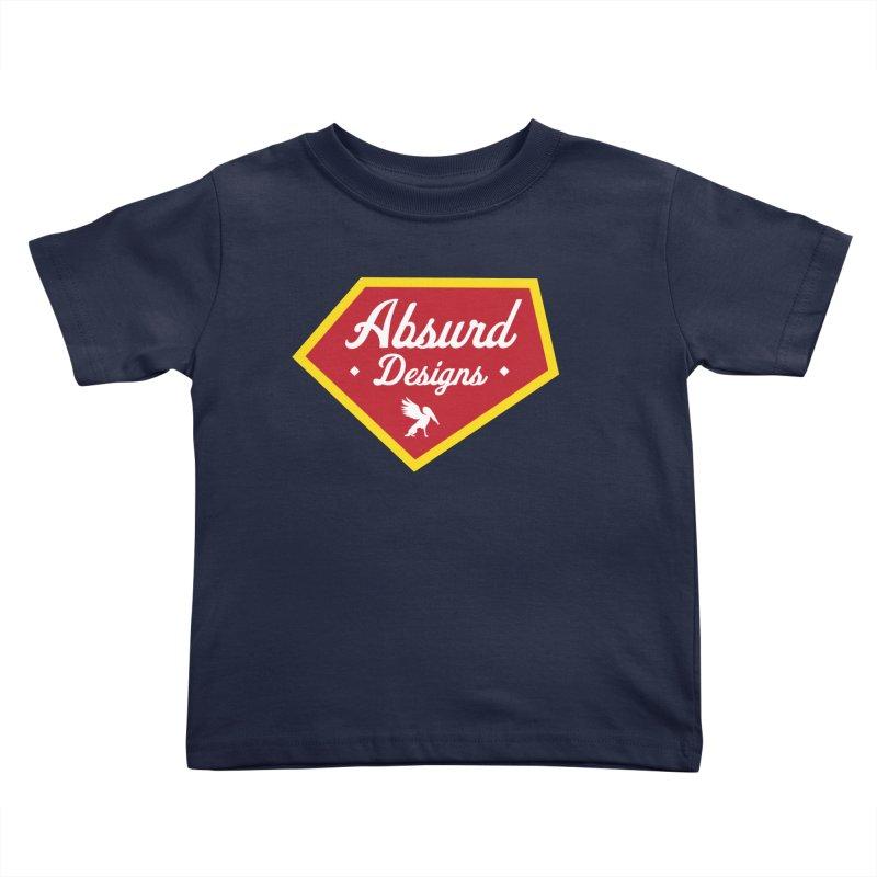 Absurd Badge 1 Kids Toddler T-Shirt by AbsurdDesigns's Artist Shop