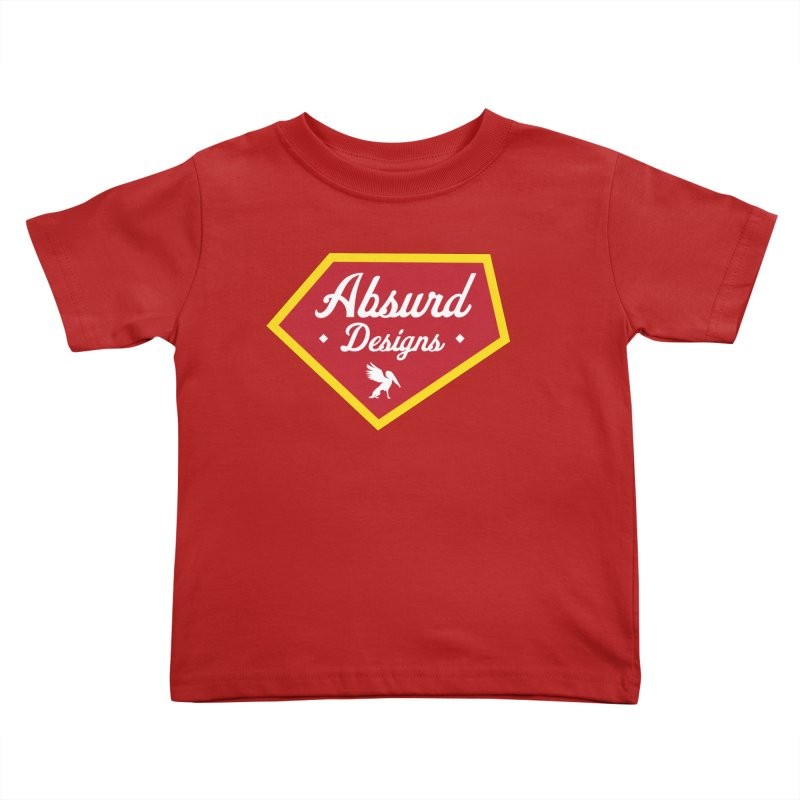 Absurd Badge 1 Kids Toddler T-Shirt by AbsurdDesigns's Artist Shop