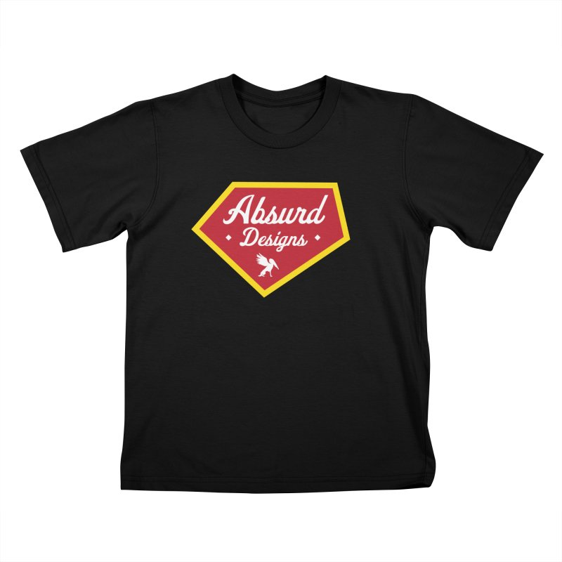 Absurd Badge 1 Kids T-Shirt by AbsurdDesigns's Artist Shop