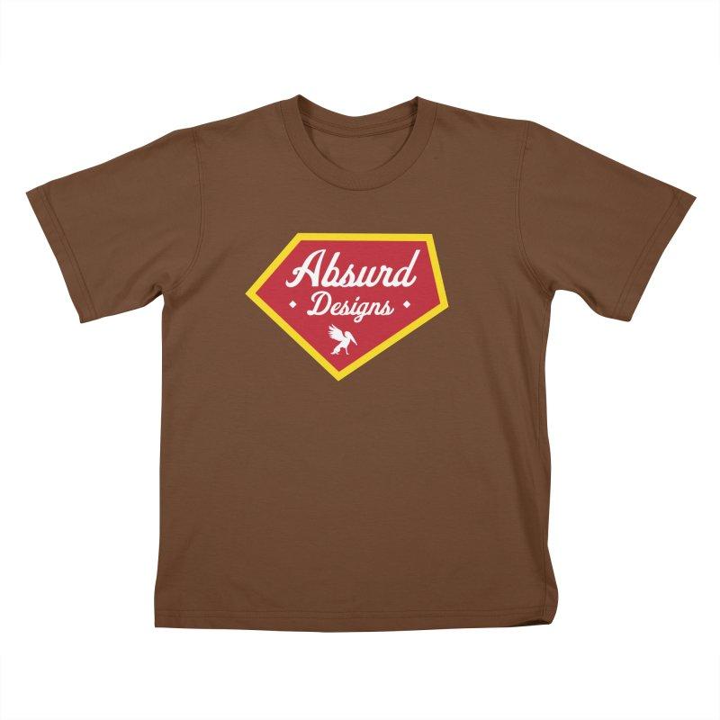 Absurd Badge 1 Kids T-shirt by AbsurdDesigns's Artist Shop