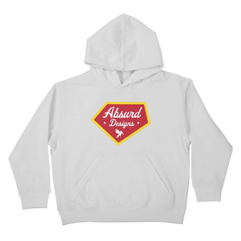 Absurd Badge 1 Kids Pullover Hoody by AbsurdDesigns's Artist Shop
