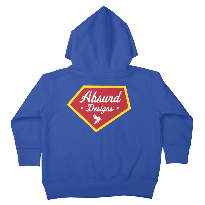 Absurd Badge 1 Kids Toddler Zip-Up Hoody by AbsurdDesigns's Artist Shop
