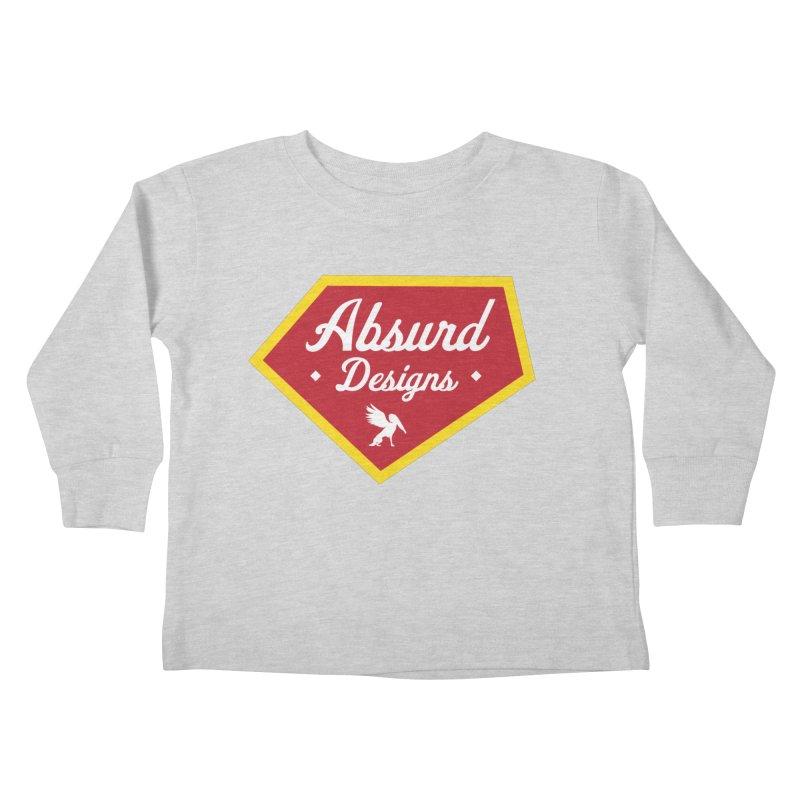 Absurd Badge 1 Kids Toddler Longsleeve T-Shirt by AbsurdDesigns's Artist Shop