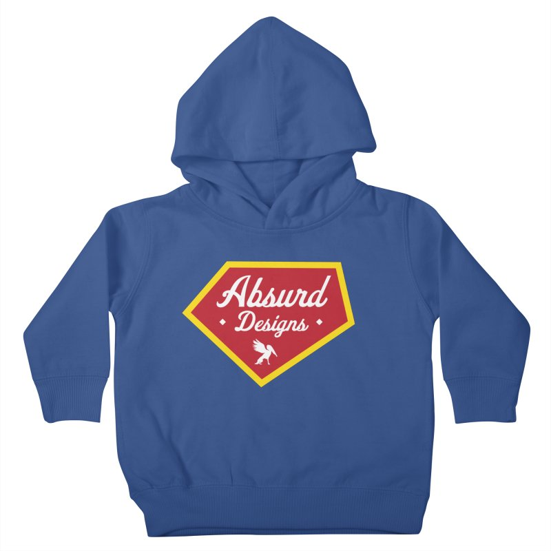 Absurd Badge 1 Kids Toddler Pullover Hoody by AbsurdDesigns's Artist Shop