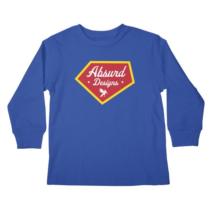 Absurd Badge 1 Kids Longsleeve T-Shirt by AbsurdDesigns's Artist Shop