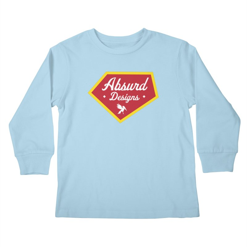 Absurd Badge 1 Kids Longsleeve T-Shirt by AbsurdDesigns's Artist Shop