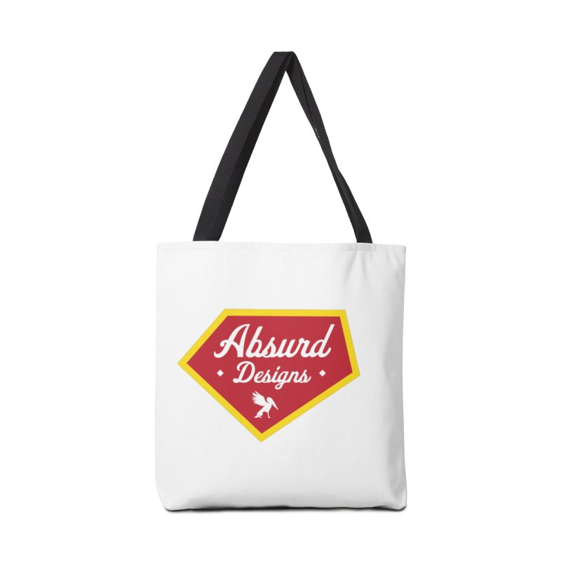 Absurd Badge 1 Accessories Bag by AbsurdDesigns's Artist Shop