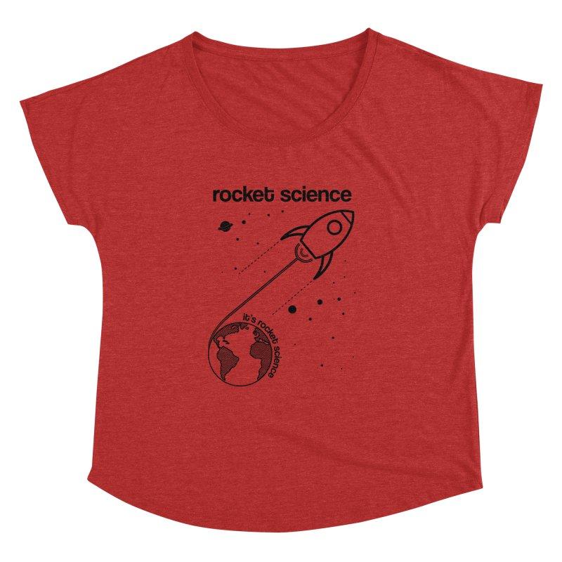 Rocket Science Women's Dolman by AbsurdDesigns's Artist Shop