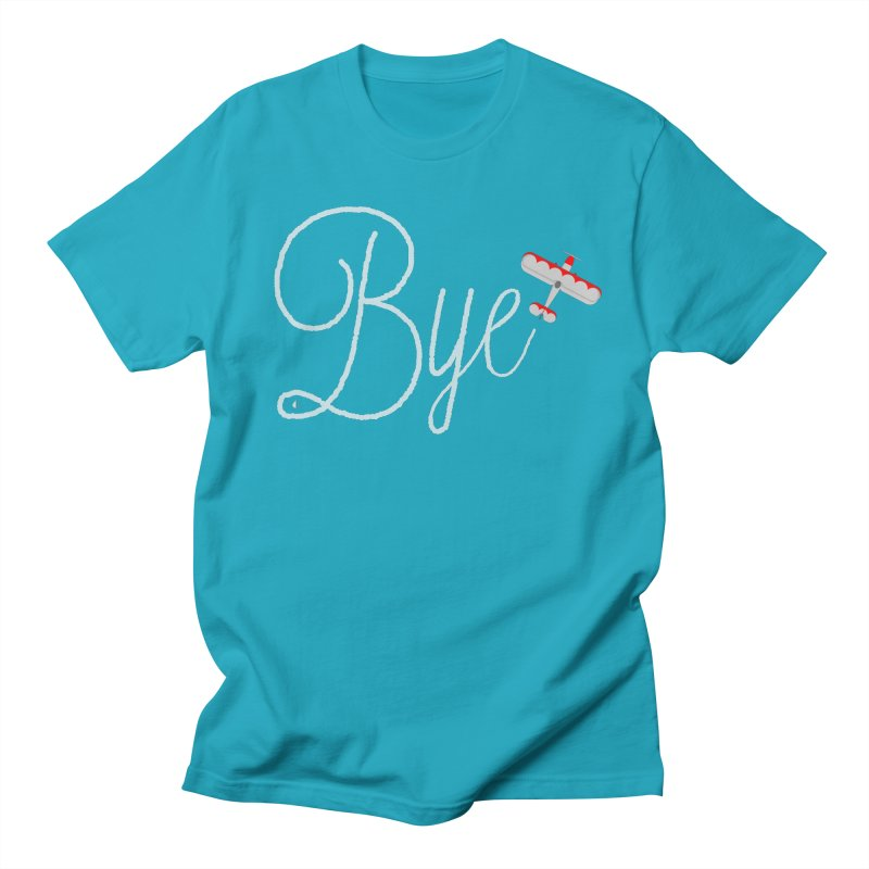 Bye Plane Men's T-shirt by AbsurdDesigns's Artist Shop