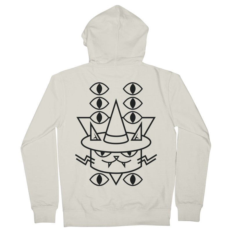 Cat Witch Men's Zip-Up Hoody by Abyssmal