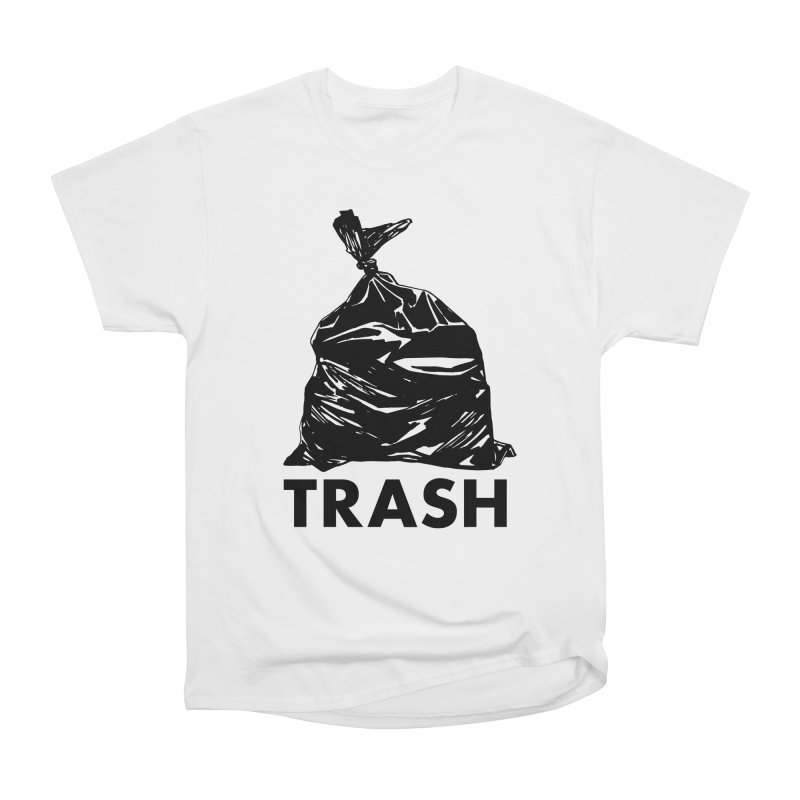 Actual Trash Women's Heavyweight Unisex T-Shirt by Abyssmal