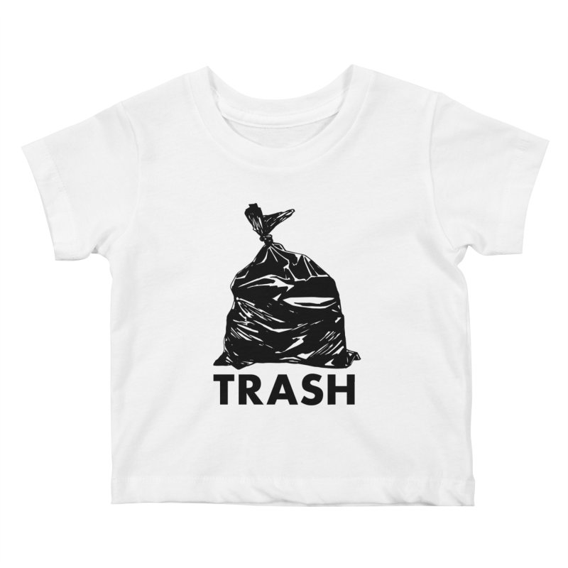 Actual Trash Kids Baby T-Shirt by Abyssmal