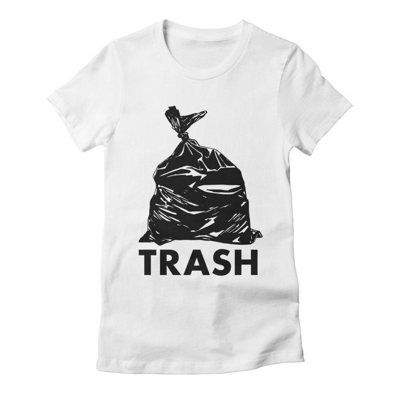 Actual Trash Women's Fitted T-Shirt by Abyssmal