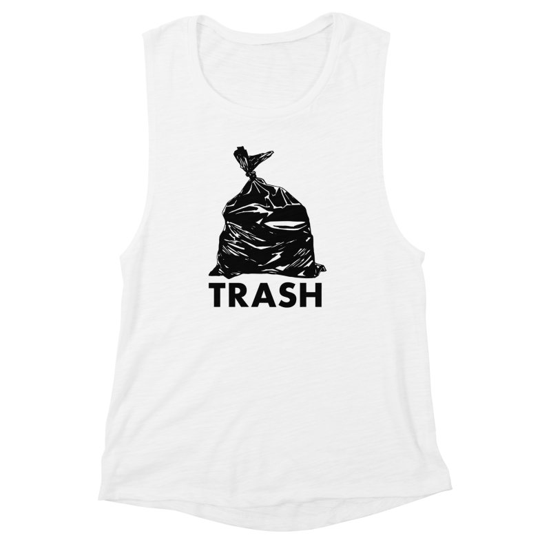 Actual Trash Women's Muscle Tank by Abyssmal
